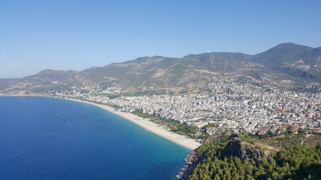 Kleopatra Beach - der schönste Strand der Türkei