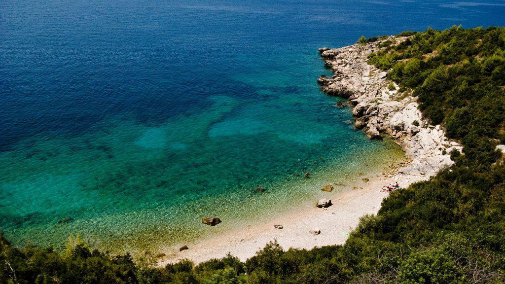 Kroatiens Strände sind vorallem auf den kroatischen Inseln wunderschön