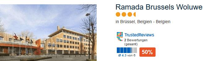 Landeskategorie 4 Sterne Ramada Brussels Woluwe