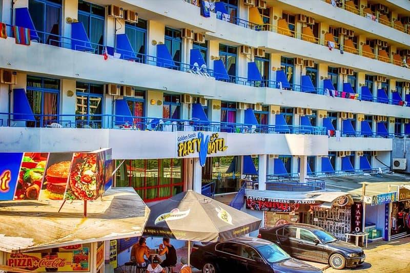 Party Hotel Goldstrand - All Inclusive Urlaub nur 261,72€ Bulgarien