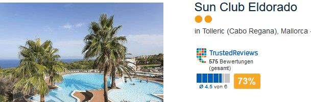 Pauschalreise nach Mallorca günstig mit All Inklusive Verpflegung