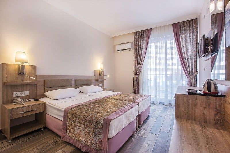 Schlafzimmer im 4 Sterne Hotel an der türkischen Ägäis - Arsi Enfi Hotel