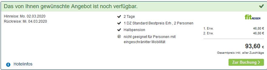 Screenshot Deal Bad Flinsberg - Halbpension im Hotel Era ab 23,40€ Kurhotel