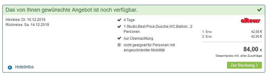 Screenshot Deal Ferienpark Geyersberg - Skiurlaub ab 10,50€ die Nacht Freyung