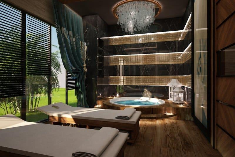Spa Bereich Türkei 5 Sterne Hotel