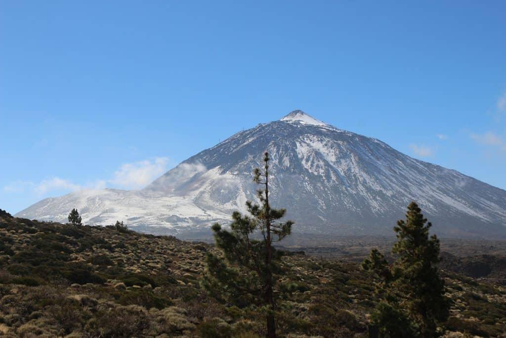 Teide der größte Berg Spaniens, über 2000 Meter ist er Hoch