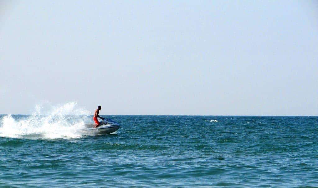 Wassersport in den Ferien