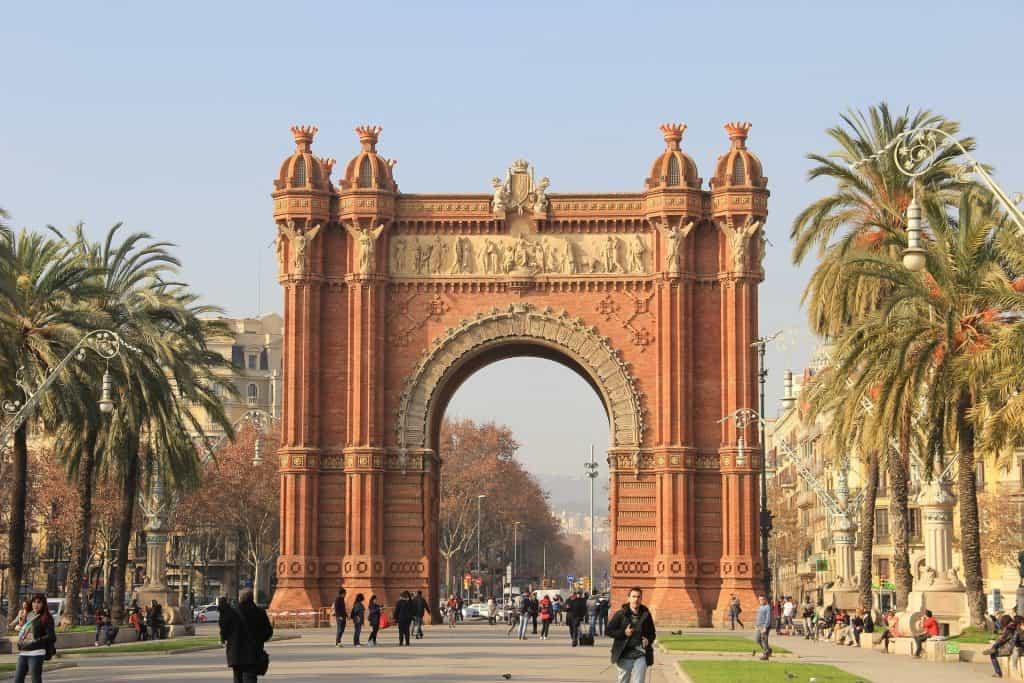 Winter in Barcelona