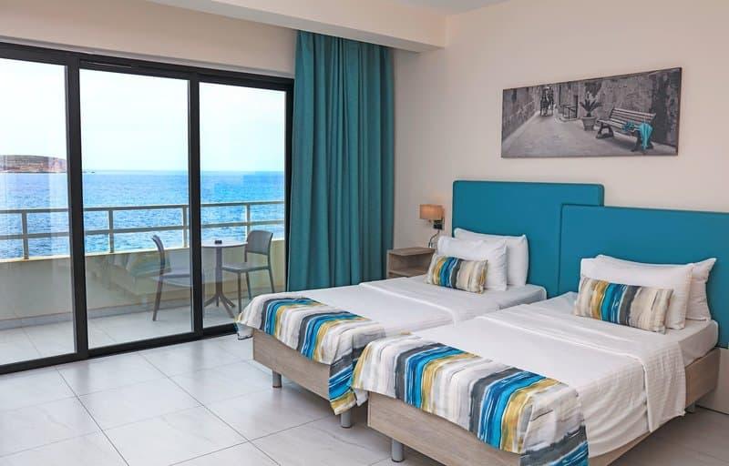 Zimmer mit Meerblick genieß deine Malta Reise