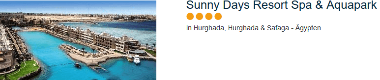 4 Sterne Hotel - Sunny Days Resort Spa & Aquapark