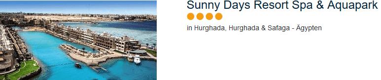 4 Sterne Hotel - Sunny Days Resort Spa & Aquapark