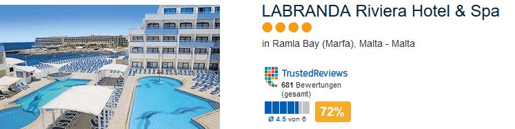 4 Sterne in Ramla Bay - LABRANDA Riviera Hotel & Spa