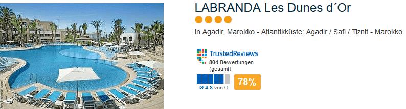5 Sterne Hotel Agadir - LABRANDA Les Dunes d´Or