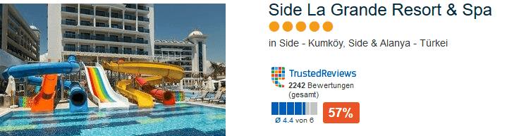 5 Sterne Luxushotel - in Side - Kumköy