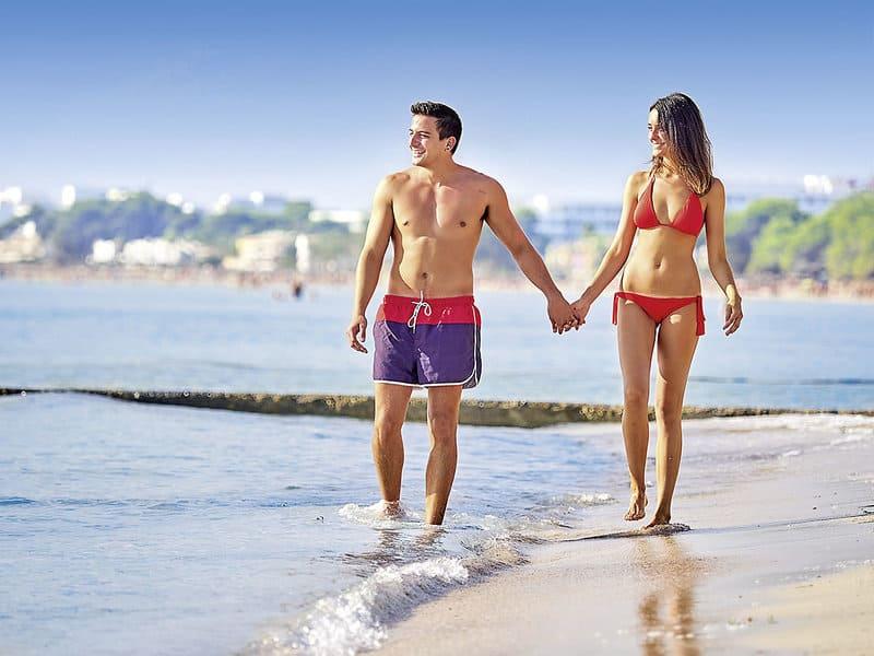 9 Kilometer langer Sandstrand von Alcudia bis Can Picafort - Playa de Muro