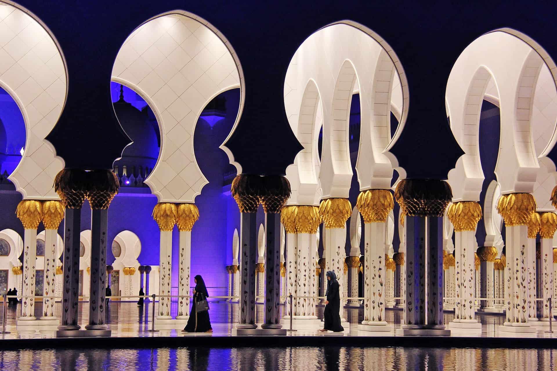 Abu Dhabi - ein Traum von 1001 Nacht wie im Märchen