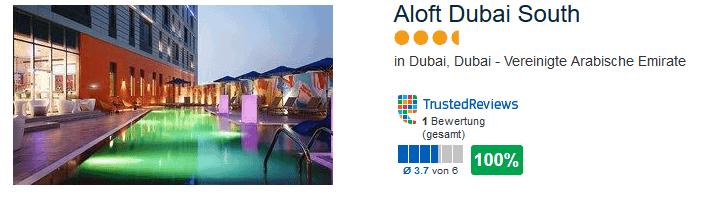 Aloft Dubai South 4 Sterne Hotel