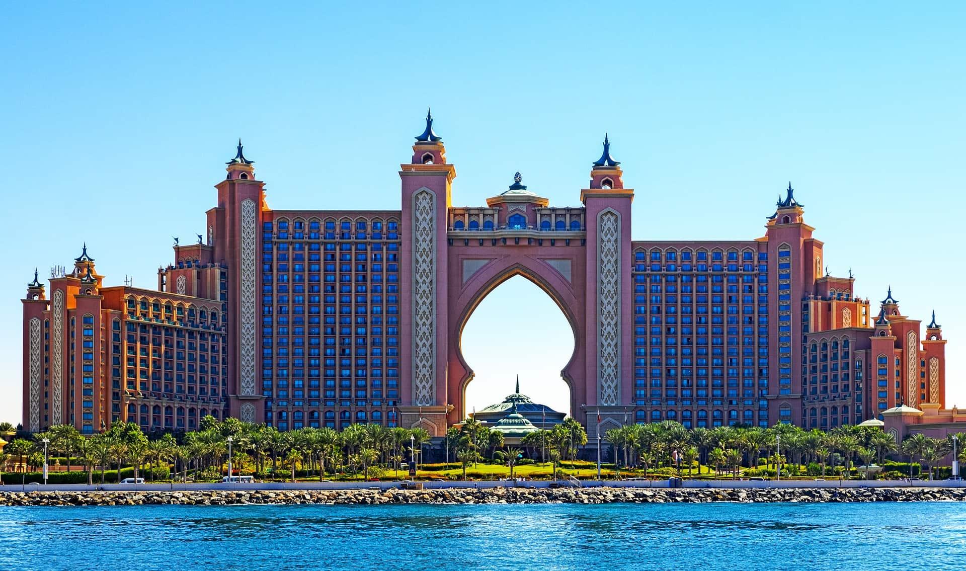 Atlantis Jumeirah das luxoriöste Hotel auf der Insel