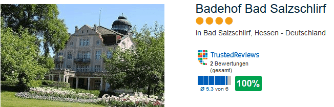 Badehof Bad Salzschlirf in Hessen