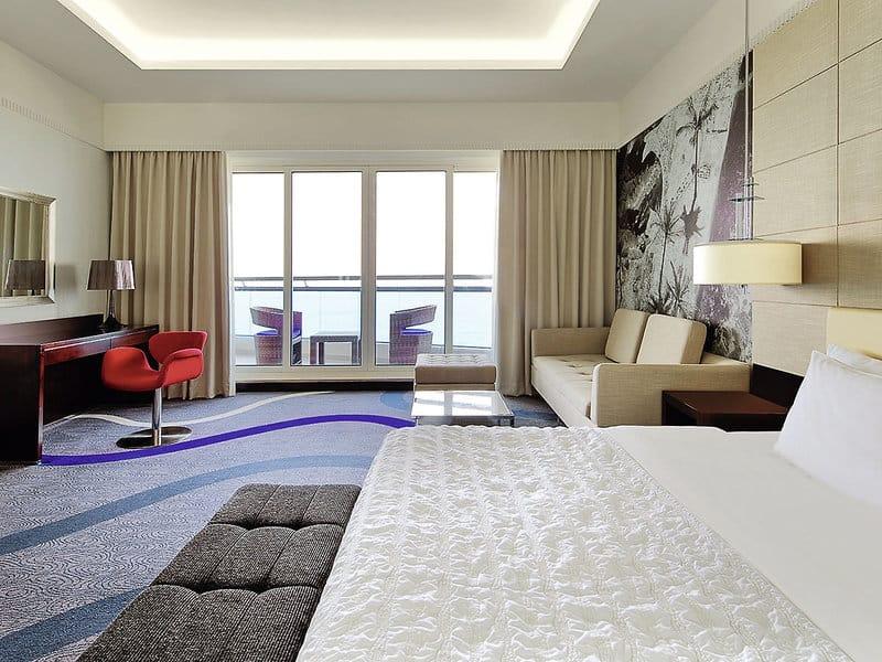 Beispielzimmer im Luxushotel in den Vereinigten Arabischen Emiraten