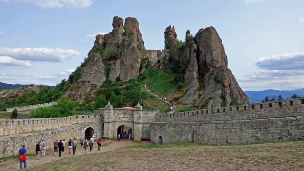 Belogradchik einer der berühmtesten Sehenswürdigkeiten des Landes