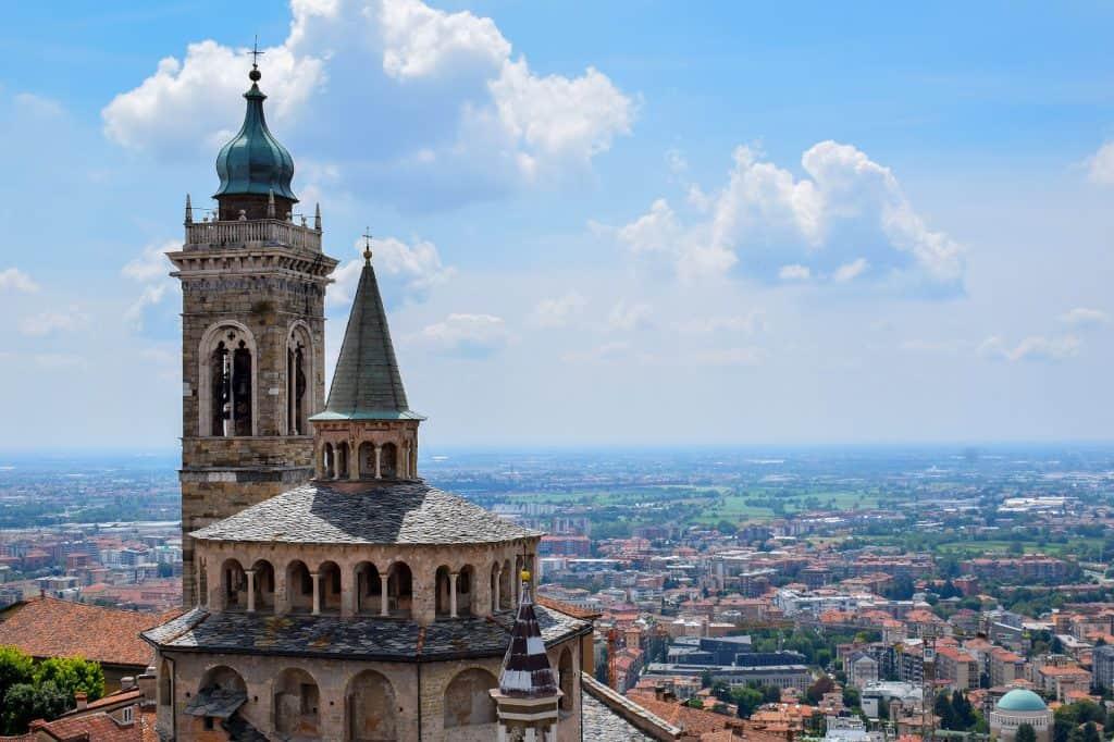 Bergamo auch eine wunderschöne Stadt bei Mailand