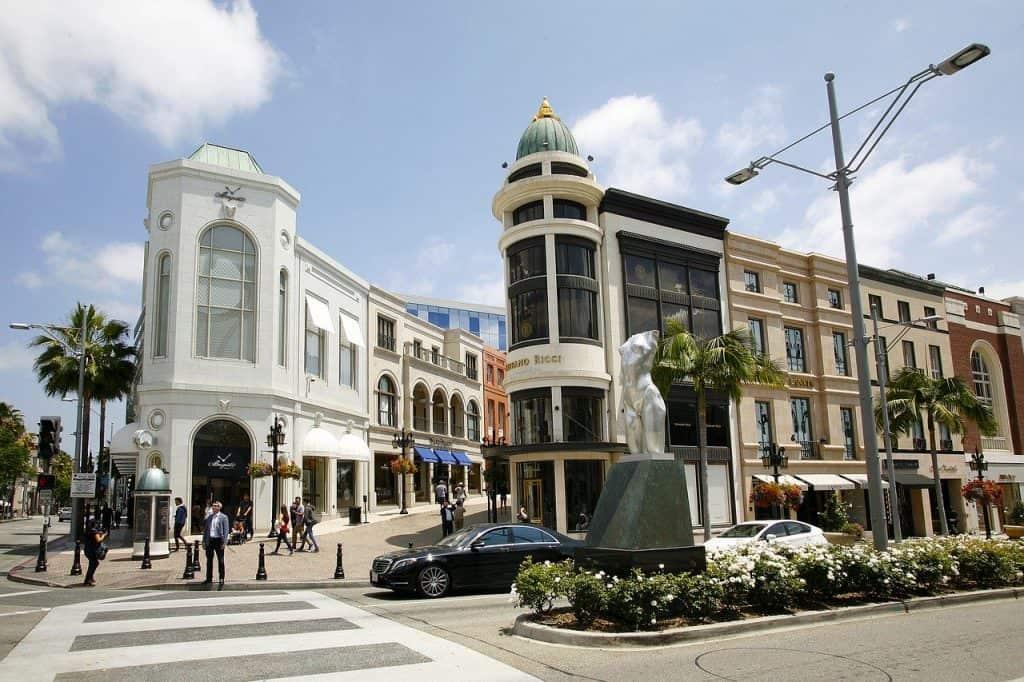 Beverly Hills das Stadtteil der Reichen