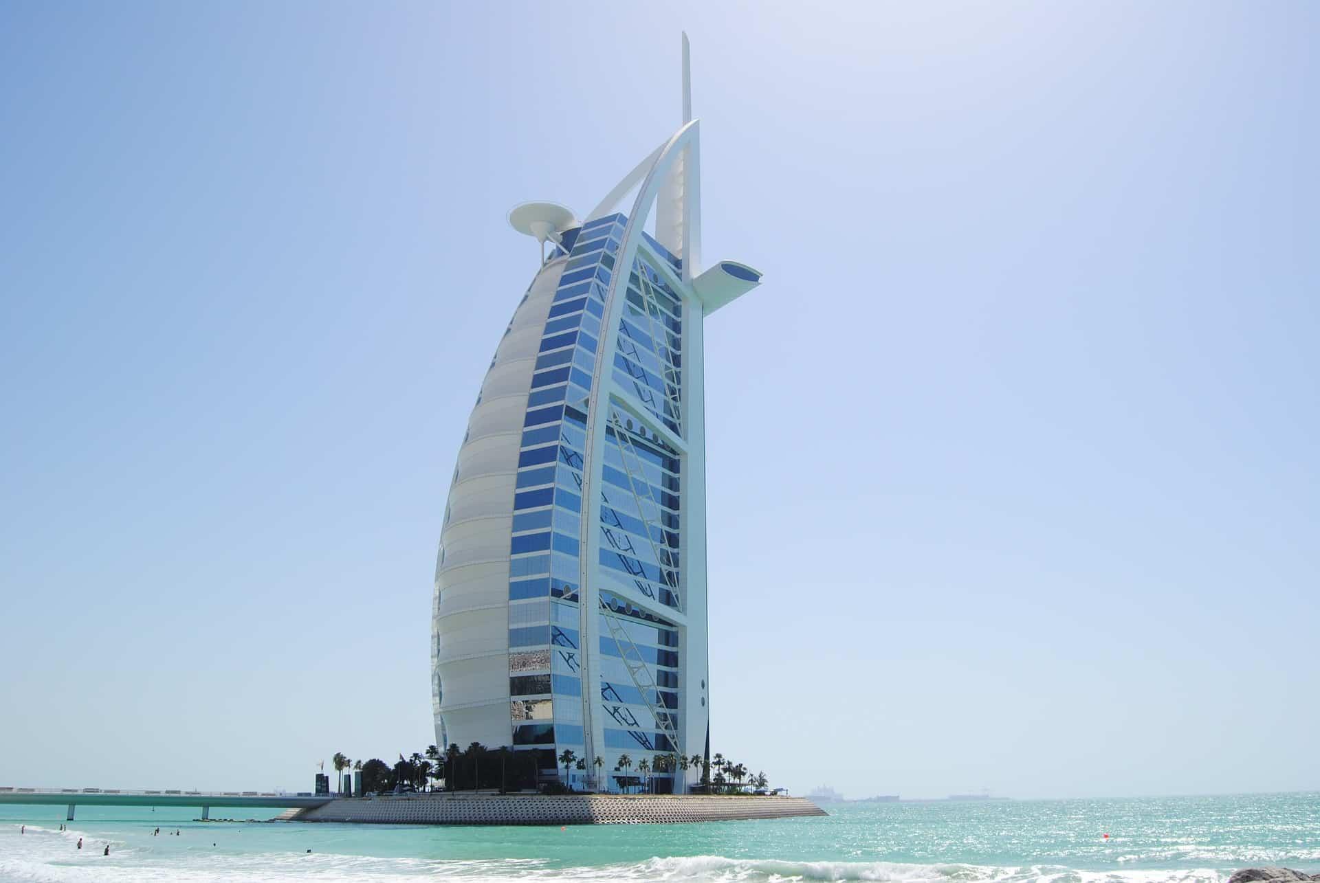 Burj al Arab willkommen im Luxushotel der Stadt