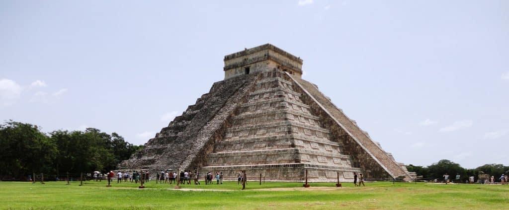 Cancun Pyramide der Mayas
