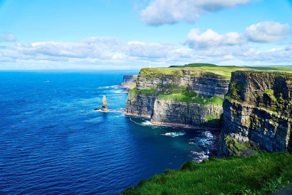 Cliffs of Mohr der Nordern der Region Munster