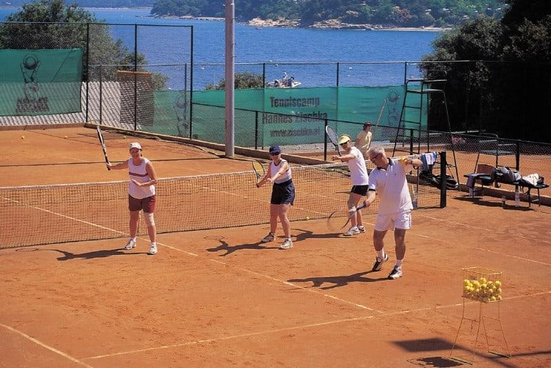 Das Sportangebot in der Ferienanlage Istriens ist groß geschrieben