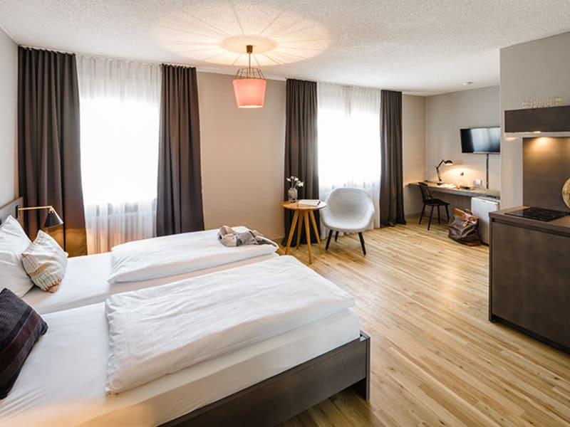 Deluxe Zimmer im Bold Apartments Frankfurt an der Messe