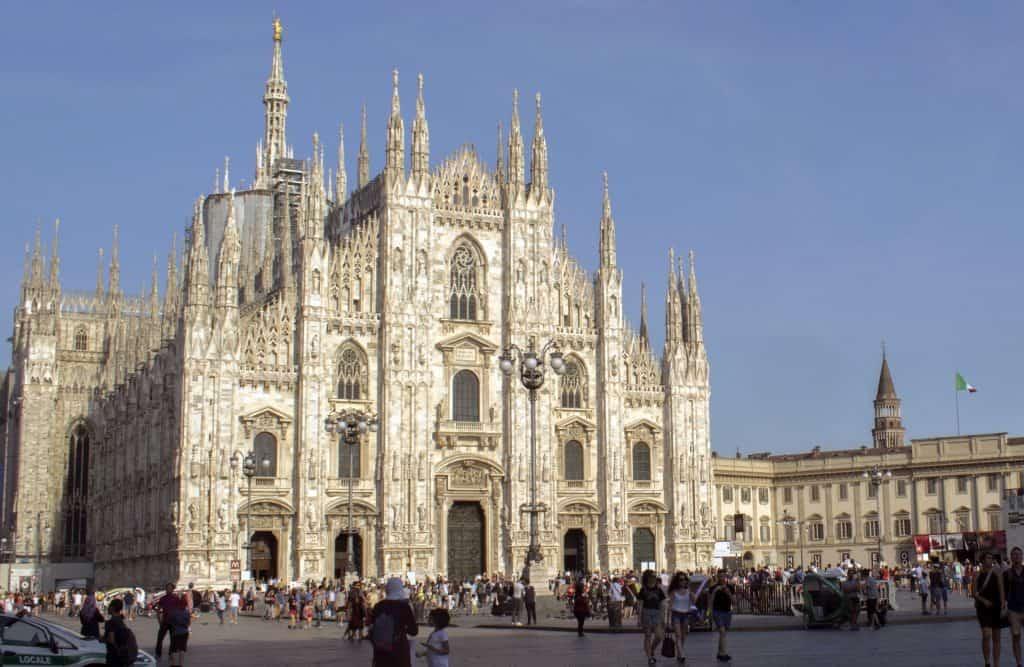 Der berühmte Dom der Stadt