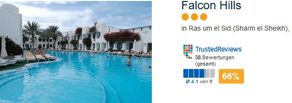 Drei Sterne Hotel Falcon Hills - In Sharm el Sheikh Ägypten