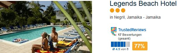 Drei Sterne Hotels reichen vollkommen aus - Legends Beach Hotel