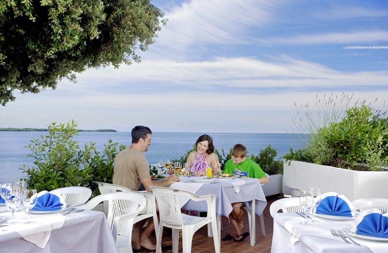 Ein Urlaub an der Adriaküste mit der gesamten Familie in Vabriga