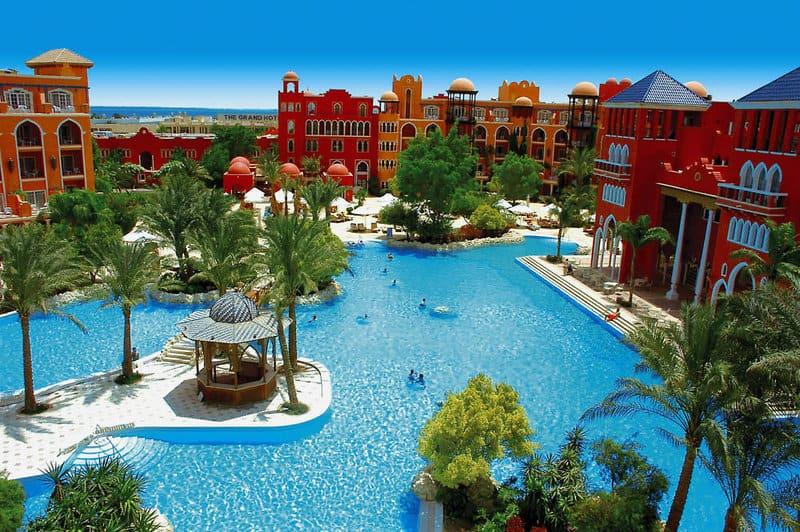Ein schönes orientalisches Ambiente erwartet euch in diesem Hotel