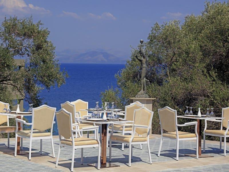 Einen Urlaub auf Korfu mit Meerblick im neuen Resort