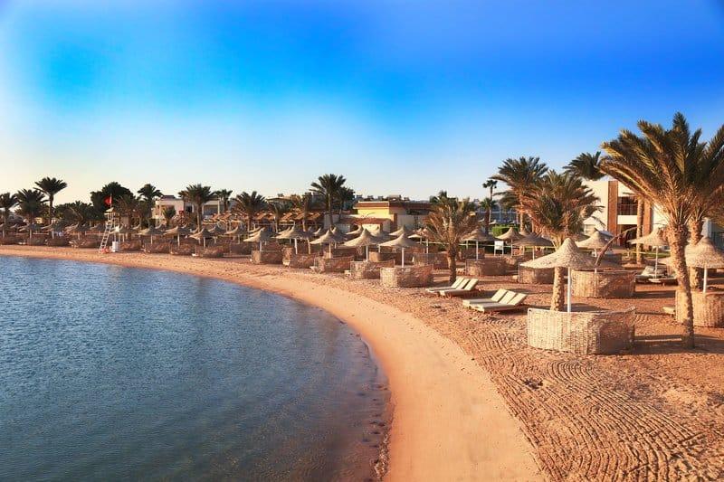 Freut euch auf die Promenade an der Makadi Bucht