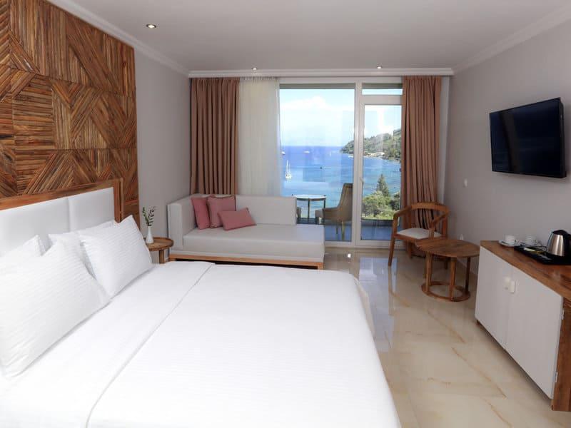 Frisch Renoviert - moderne Zimmer inklusive Meerblick genießen