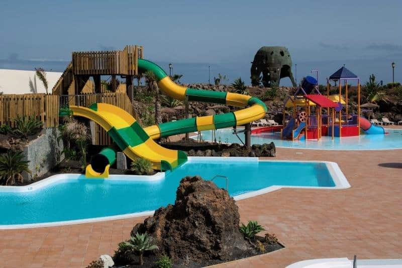 Für die gesamte Familie bietet die Anlage einen atemberaubenden Urlaub in Lajares