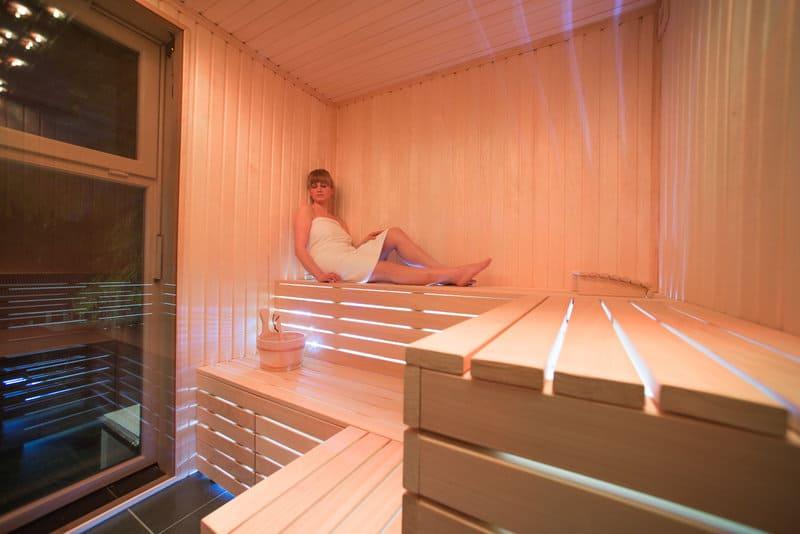 Genießt den aufenthalt in der Sauna & Badelandschaft