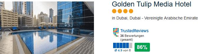 Golden Tulip Media Hote - 4 Sterne Beispiel