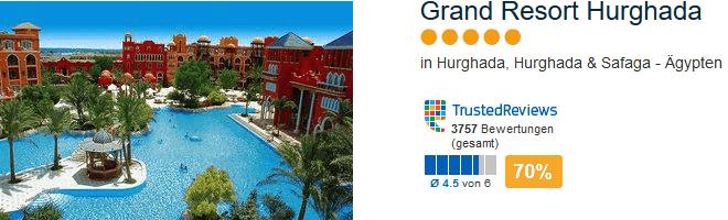 Grand Resort Hurghada - Lastminute Tipp