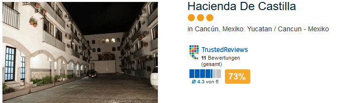 Hacienda De Castilla - drei Sterne Cancun Mexiko