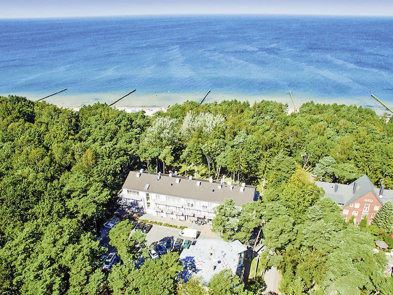 Hotel mit direkter Strandlage in Ustronie Morskie