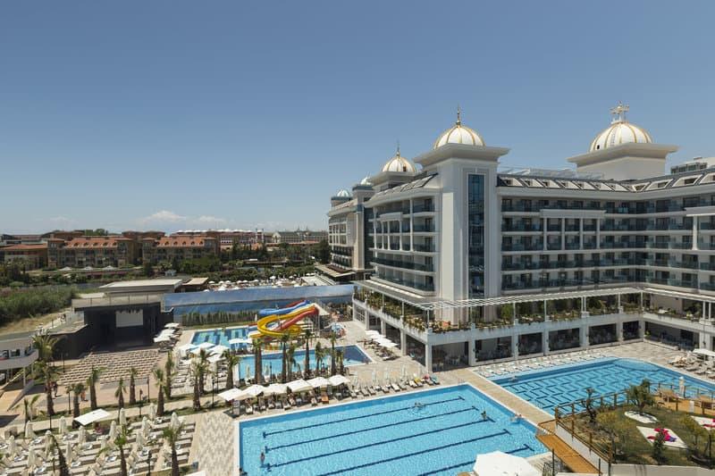 Hotelanlage mit Strandnähe