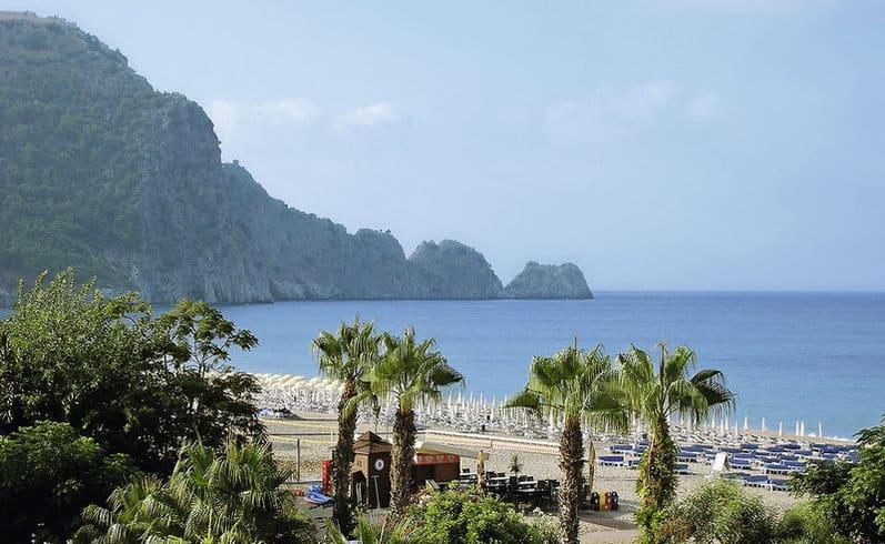 Kleopatra Beach - ist der schönste Strandabschnitt in der Türkei