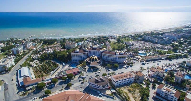 Lage vom Hotel am Kleopetra Beach