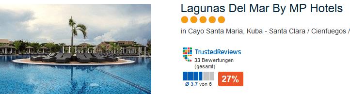 Lagunas Del Mar By MP Hotels in Cayo Santa Maria bei Santa Clara